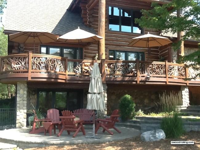 log-home-deck-railing
