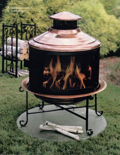 Copper Chimenea